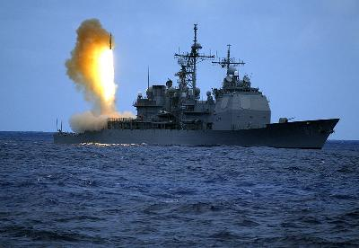 Moscow warns against US warships