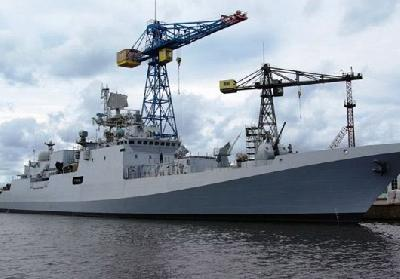 Indian Navy to Get First of Three Frigates in April 2012