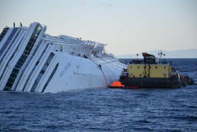 Italy: SMIT Salvage Completes Oil Discharge from Costa Concordia Double Bottom Tanks