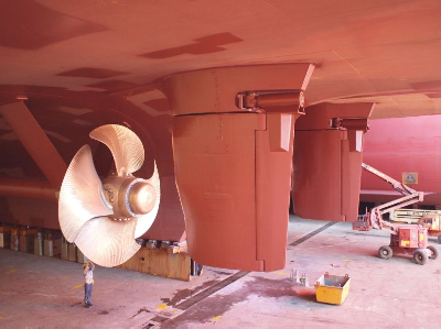 Van der Velden Provides Rudder System on CoTuNav's New RoPax, Tunisia