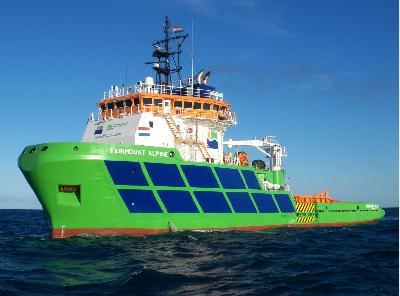 Fairmount Alpine Escorts Bulk Carrier from Brazil to Namibia