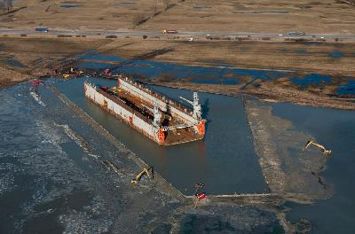 Sweden: Koole Maritiem Executes Salvage of 6,000 ton Stranded Floating Dry Dock