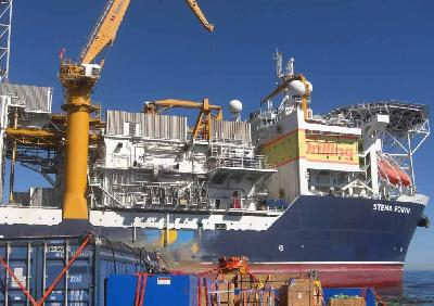 Fairmount Fuji Assists Drillship Stena Forth in South Africa