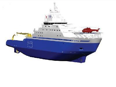 USA: ECO Shipyard Christens New Icebreaker Built for Shell
