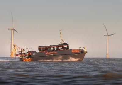 UK: Offshore Turbine Services Chooses CTruk's Vessels