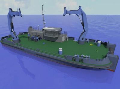 UK: Port of London Authority Orders Mooring Maintenance Vessel