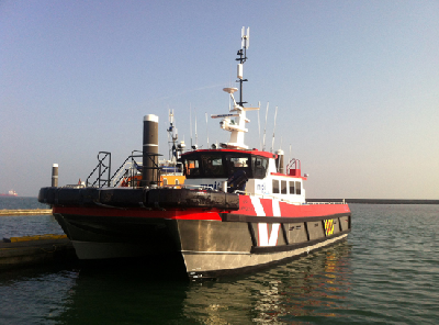 MPI Workboats Takes Over New Crew Transfer Vessel from South Boats, UK