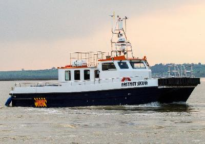Ireland: Fastnet's 3rd Windfarm Support Vessel Launched