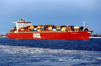 OOCL quarterly volumes up 5.4pc, but revenues off 0.9pc to US$1.3 billion