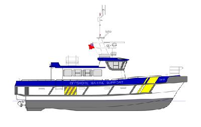 UK: Offshore Marine Support Secures Build Slot for South Catamaran 17m WFSV