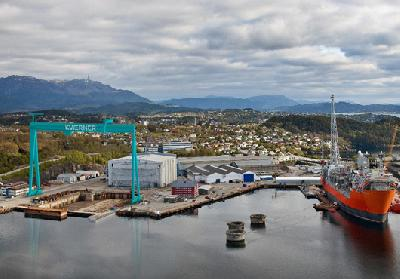 Kvaerner Invests in Upgrades of Its Facilities at Stord, Norway