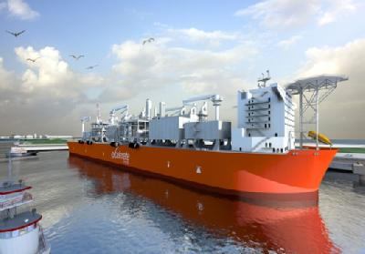 Excelerate to Build First Floating Liquefaction Facility in USA