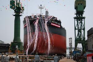 Japan: KHI Delivers New Bulk Carrier to I.M.S. Maritime