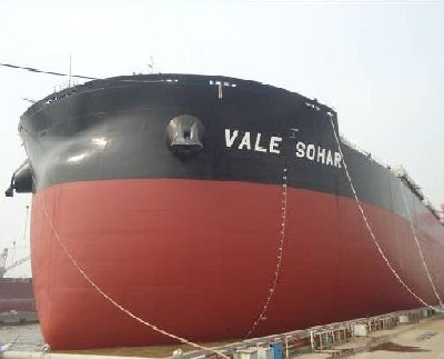 China: Rongsheng Heavy Christens World's Largest Dry Bulk Carriers