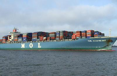 MOL unveils new weekly China-Middle East service from June 8