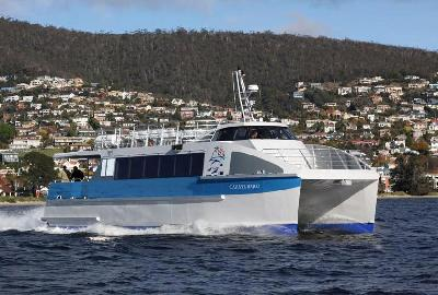 Australia: New Incat Crowther's Catamaran Ferry Launched