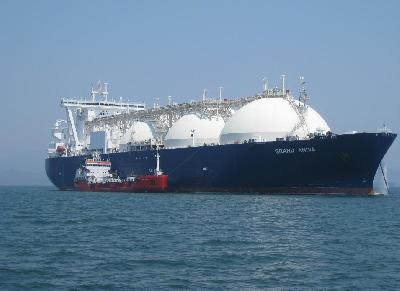 LNG Tanker Grand Aniva Performs Bunkering Operation in Russia