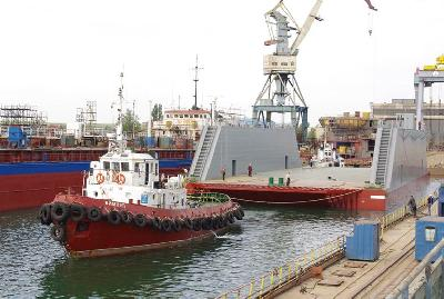 Portuguese ENP Takes Delivery of New Floating Dock from Zaliv Shipyard
