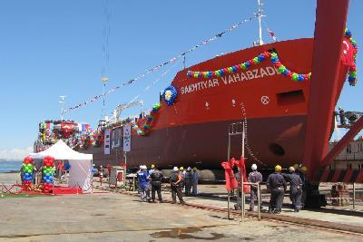 Turkey: Besiktas Shipyard Launches Tanker for Palmali Group
