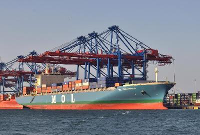 G6 Alliance Starts Suez Canal Container Terminal Port Calls
