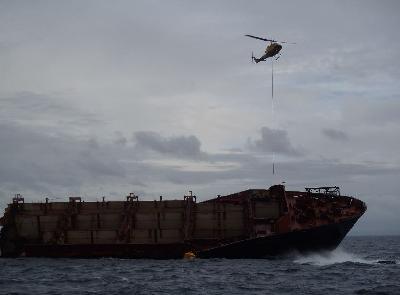 New Zealand: Bad Weather Disrupts Rena Salvage Activities