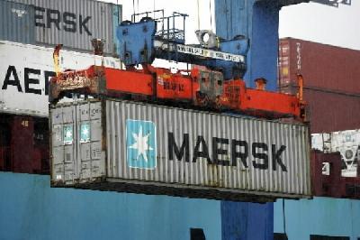 AP Moller's Danske Bank downgraded, run by ex-Maersk Line CEO