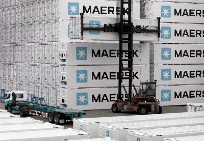 Sales of Maersk's refrigeration box units see almost exponential growth