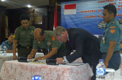 DSNS Inks Contract for Construction of SIGMA PKR for Indonesian Navy