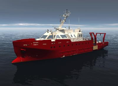 Romania: Constanta Shipyard to Launch ROV-Survey Vessel 'SHARK 1′ in August
