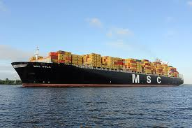 MSC's 11,660-TEU Sola biggest ship to call at South Africa, Mauritius