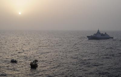 Indian, Bangladeshi Crew Members Saved by NATO Flagship