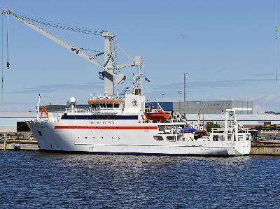 STX Finland Hands Over Research Vessel Mirabilis