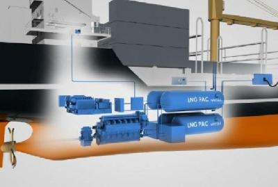 Wartsila, Tidewater to Promote Use of LNG as Marine Fuel