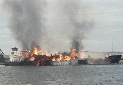 Malaysia: Fire Onboard MISC Berhad's Tanker 'Bunga Alpinia'