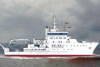 India: ABG Shipyard Launches Oceanographic Research Vessel 'Sindhu Sadhana'