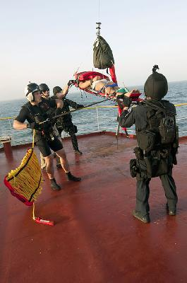 USS Winston S. Churchill Aids Turkish bulk carrier M/V Belde