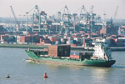 Rotterdam first half box volume falls 1.6 pc while all cargo rises 3.2pc