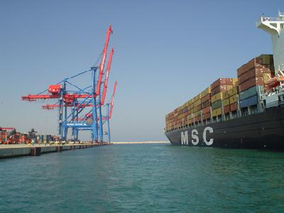 Beirut port's box volume up 4pc, revenues reach highest level in five years