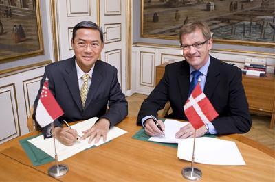 Singapore, Denmark sign MOU to enhance maritime cooperation
