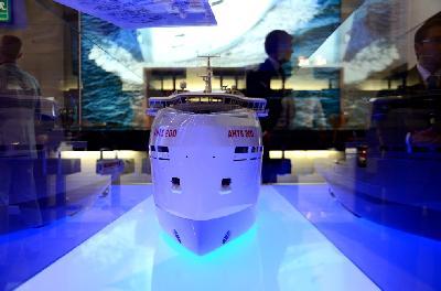 SMM 2012 – Damen Shipyards Presents AHTS 200 Design