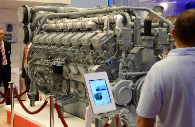Mitsubishi Presents Its Fuel Efficient Engine at SMM 2012