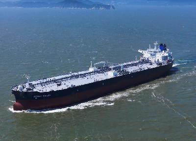 South Korea: DSME Holds Naming Ceremony for New SCF Tanker