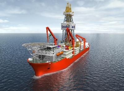 Seadrill Orders New Drillship from Samsung Heavy (South Korea)
