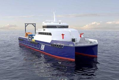 Incat Crowther Wins Order for Design of Catamaran Dive Support Vessel (Australia)