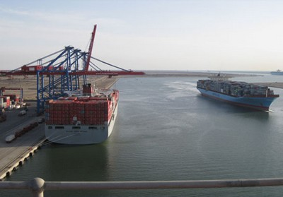 SCCT Handles World's Largest Vessels with Ease (Egypt)