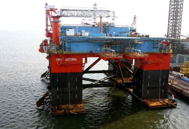 Woodside Extends Contract for Accommodation Rig Safe Astoria (Australia)