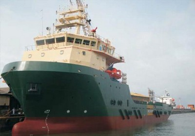 Colombo Dockyard Delivers ROV Support Vessel to Greatship (India)