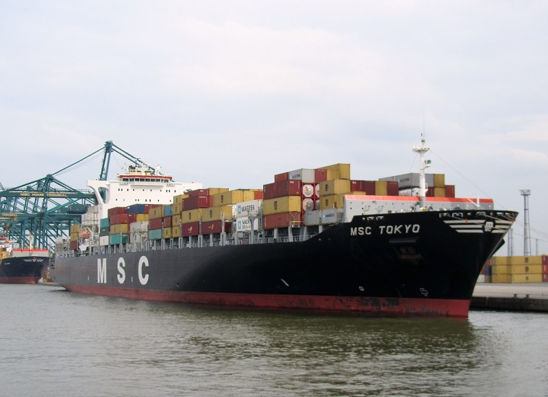 USCG in search for missing crewmember of MSC TOKYO