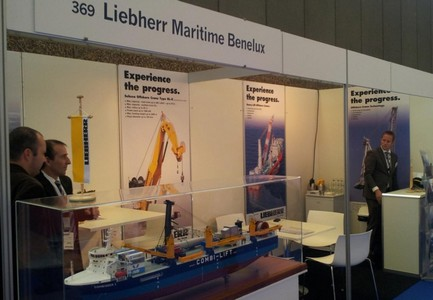 Offshore Energy 2012: Liebherr Sees Further Growth in Wind Market
