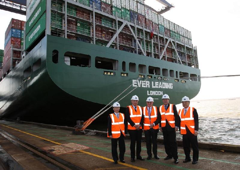 UK shipping minister picks Felixstowe as first port to visit